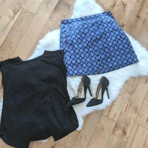 J.CREW - NWT Medallion Silk Mini Skirt